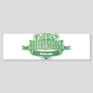 Breckenridge Colorado Ski Resort 3 Bumper Sticker