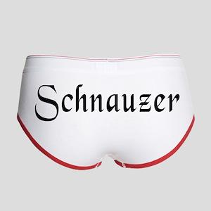 Schnauzer Women's Boy Brief