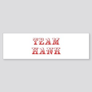 team-hank-max-red Bumper Sticker