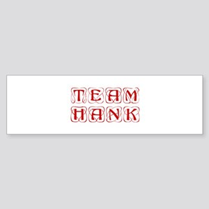 team-hank-kon-red Bumper Sticker