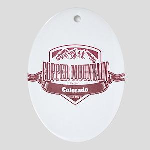 Copper Mountain Colorado Ski Resort 2 Ornament (Ov