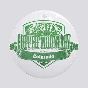Copper Mountain Colorado Ski Resort 3 Ornament (Ro