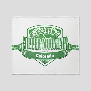Copper Mountain Colorado Ski Resort 3 Throw Blanke