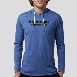 I'm An Accountant Let's Just Ass Mens Hooded Shirt