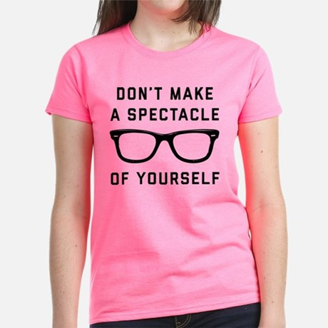 Don't make a Spectacle of Yourself