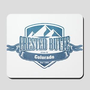 Crested Butte Colorado Ski Resort Mousepad