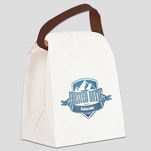 Crested Butte Colorado Ski Resort Canvas Lunch Bag