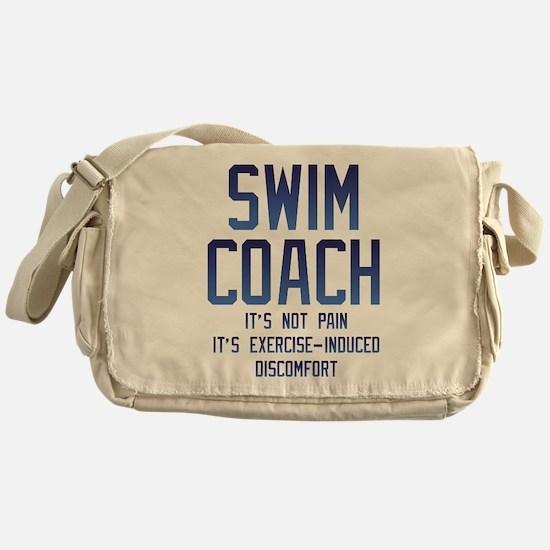 Swim Coach It's Exercise Induced Dis Messenger Bag