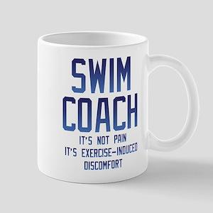 Swim Coach It's Exercise Induced 11 oz Ceramic Mug