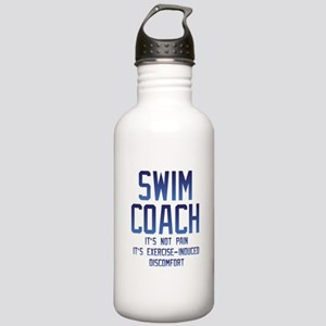 Swim Coach It's Exerci Stainless Water Bottle 1.0L