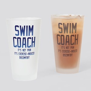 Swim Coach It's Exercise Induced Di Drinking Glass