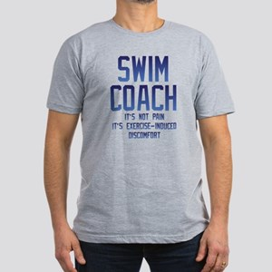 Swim Coach It's Exerci Men's Fitted T-Shirt (dark)