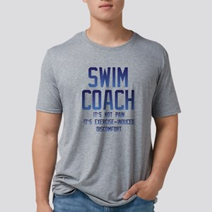 Swim Coach It's Exercise In Mens Tri-blend T-Shirt
