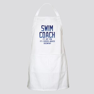 Swim Coach It's Exercise Induced Disco Light Apron