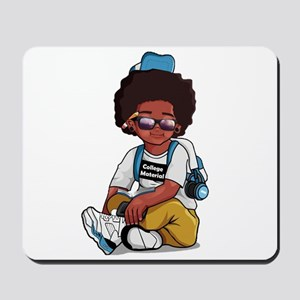 College Material Mousepad