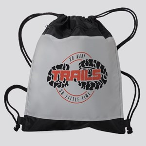 So Many Trails Full Bleed Drawstring Bag