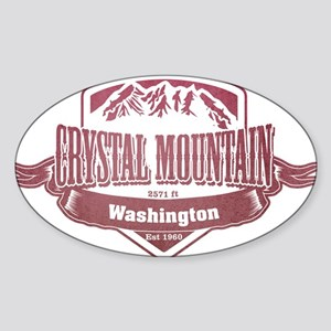 Crystal Mountain Washington Ski Resort 2 Sticker