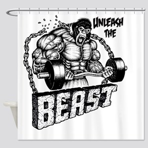 Unleash The Beast Shower Curtain