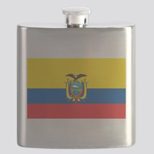 Flag of Ecuador Flask
