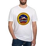 USS KISKA Fitted T-Shirt
