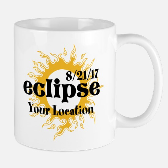 Personalize Eclipse 2017 Mugs