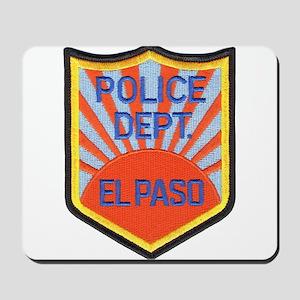 El Paso Police Mousepad