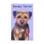 Border Terrier Sticker (Rectangle)