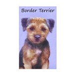 Border Terrier Sticker (Rectangle 10 pk)