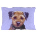 Border Terrier Pillow Case