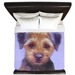 Border Terrier King Duvet