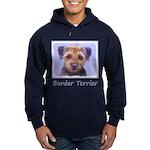 Border Terrier Hoodie (dark)