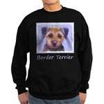 Border Terrier Sweatshirt (dark)