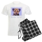 Border Terrier Men's Light Pajamas