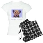 Border Terrier Women's Light Pajamas