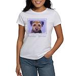 Border Terrier Women's Classic White T-Shirt
