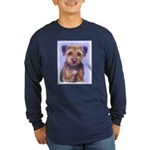 Border Terrier Long Sleeve Dark T-Shirt