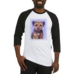 Border Terrier Baseball Tee