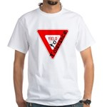 Yield to Tolerance White T-Shirt