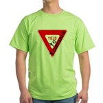 Yield to Tolerance Green T-Shirt