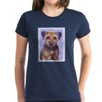 Border Terrier Women's Dark T-Shirt