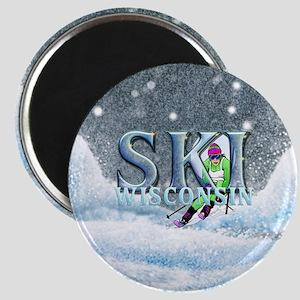 TOP Ski Wisconsin Magnet