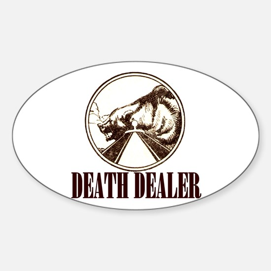 DEATH DEALER Oval Decal