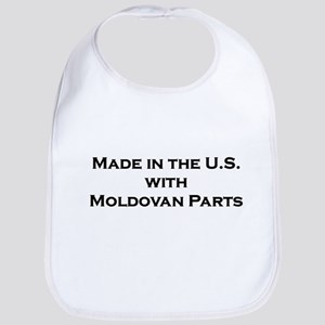 Made in the U.S. with Moldovan Parts Bib