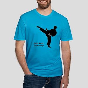 Martial Arts Men's Fitted T-Shirt (dark)
