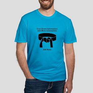 Karate Tournament Men's Fitted T-Shirt (dark)