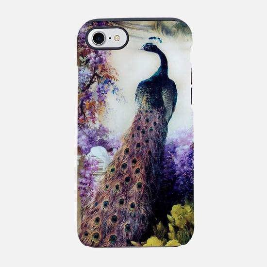 Bidau Peacock, Wisteria, Doves iPhone 7 Tough Case