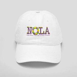 NOLA Mardi Gras King Cake Cap