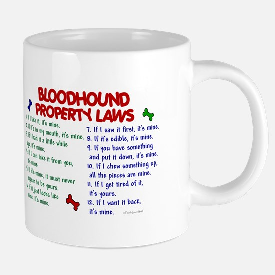 Bloodhound Property Laws 2 Mugs