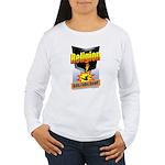 Religion Kills Folks D Women's Long Sleeve T-Shirt