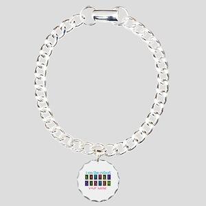 Cutest Little Sister Personalized Charm Bracelet,